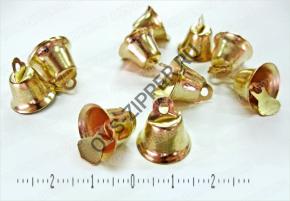 Колокольчики 12мм золото - купить по цене от 170 руб. в Москве в интернет-магазине ОВС Швейная Фурнитура