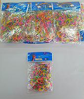 Резинки для плетения в пакете(ассорти)